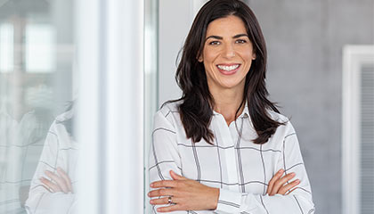 Woman With White Shirt